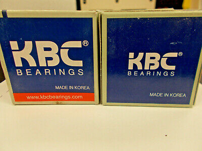 NIB KBC 6205ZZC3 BEARING METAL SEALED 6205ZZ C3 6205 ZZ C3 25x52x15 mm