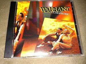 Details about WARRANT cd ULTRAPHOBIC cmc canada jani lane free US shipping