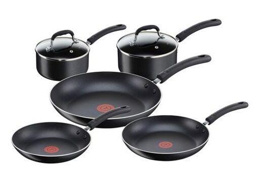 TEFAL Cocina-Clavados Antiadherente Cookware Set-Clavados asa asa asa de silicona 147a0e