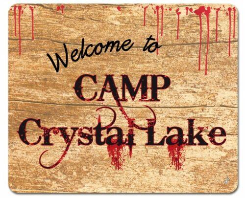 Freitag der 13 - Welcome Camp Crystal Lake Mauspad Mousepad 23x19cm #102683