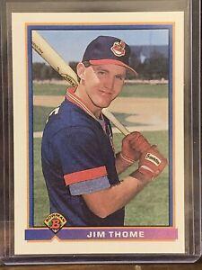 1991 Bowman Jim Thome Rookie Card #68 INDIANS