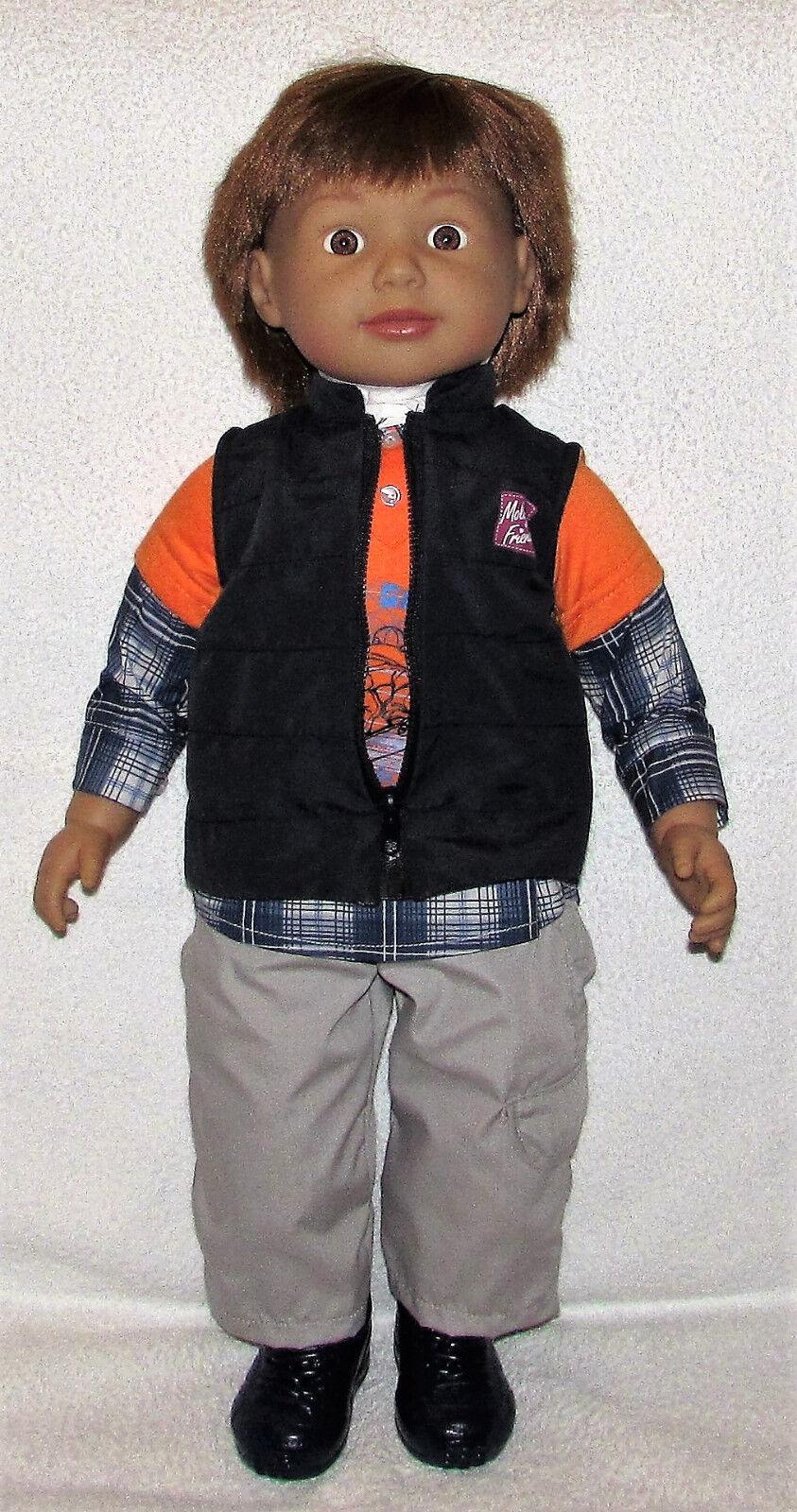 Chad Vtuttiey Molly e Friends  Ollie Boy bambola. 24 pollici di altezza e morbido corposo. NUOVO con scatola  qualità garantita