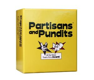 Partisans and Pundits - NEW - party game - political card game - free shipping