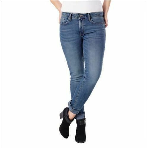 448cd109cc59 Calvin Klein Jeans Womens Slim BOYFRIEND Jean Sandstone Blue Size 6 for  sale online