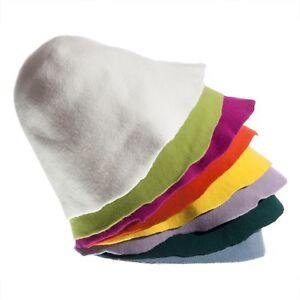 Wool felt hood fascinator 24 colors cone Felt body sauna cap ... c2301a5bc81e