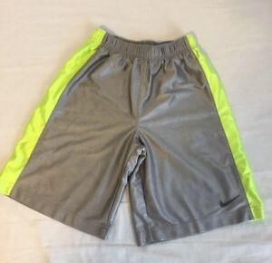 Descomponer hígado espacio  Pantalones cortos de baloncesto Nike Niño Largo Gris Amarillo Dri-fit Talla  M Mediano | eBay