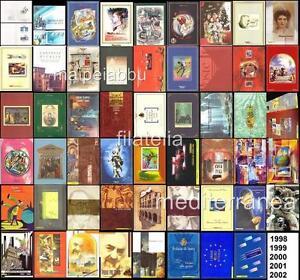 Italia-1998-1999-2000-2001-2002-Tutti-i-Folder-emessi-Inserzione-Multipla