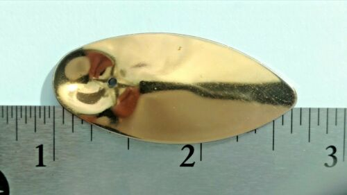 """10 IN-LINE SIZE #6 SPINNER BLADES SAME AS PANTHER MARTIN size is 1 3//4/"""" fishgrub"""