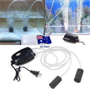 2Pcs-Air-Bubble-Disk-Stone-Aerator-Aquarium-Fish-Tank-Pond-Oxygen-Pump-HOT-EA