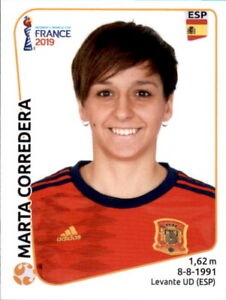 Panini Frauen WM 2019 Sticker 152 Marta Corredera Spanien