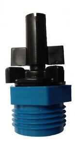 Fogger-1-8-GPH-Cooling-Mist-Spray-Fog-Tip-3-4-034-Male-Hose-amp-1-2-034-MPT-connection