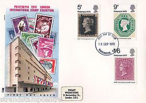 1970-Philympia-Philart-Paddington-FDI