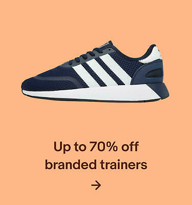 Up to 70% off branded trainers