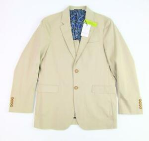 ROBERT-GRAHAM-RG-MENS-JARVIS-LIGHT-KHAKI-TAN-DRESS-SPORTCOAT-BLAZER-38-NWT-398