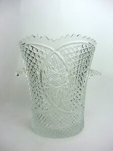 Vintage-Cut-Crystal-Ice-Bucket