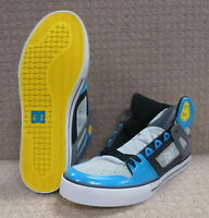 """DC Men's Shoes """"Spartan High WC"""" -- Armor / Turquoise"""