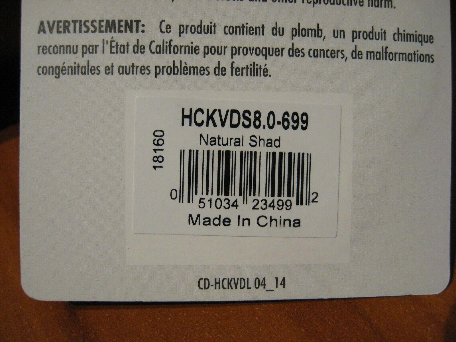 Strike King Crankbait squarebill Magnum hckvds 8.0-699 Natural Shad Lure