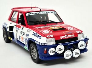 Solido 1/18 Renault 5 Turbo Rally d' Antibies 1983 #9 Sodicam Therier Model Car