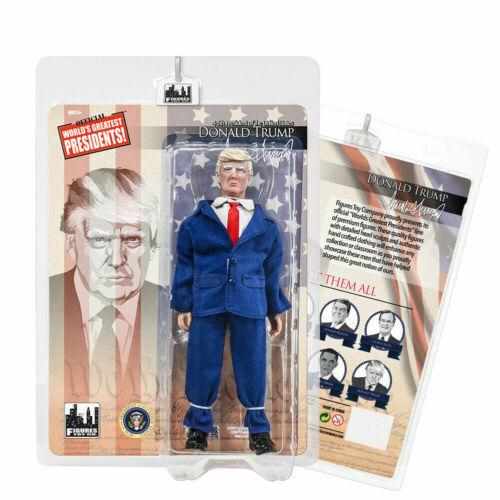Donald Trump Blue Suit U.S Presidents Figures Toy Company Action Figure