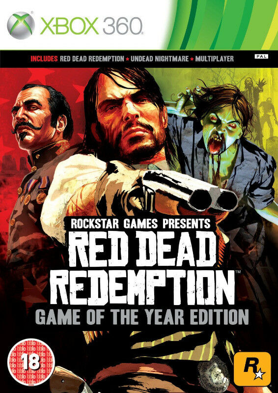 Xbox One / Xbox 360 Red Dead Redemption - Game of the Year Edition (brand new)