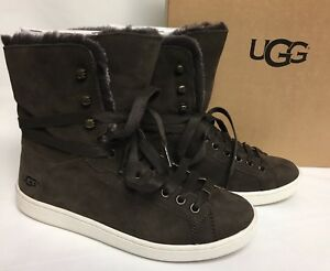 UGG Olive High Top(Women's) -Chestnut Pebbled Nubuck Cheap Sale Limited Edition Real Cheap Online Low Price Fee Shipping Free Shipping Marketable Free Shipping Footaction c7DClXwT