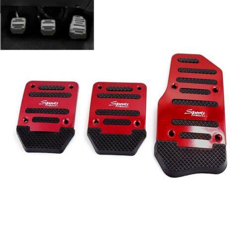 Non Slip Car Pedal Cover Manual Transmission Brake Clutch Accelerator 3pcs