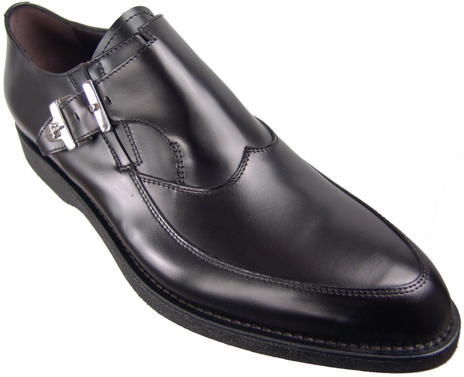 New Authentic  915 Cesare Paciotti US 7 Pelle Loafers Italian Designer Scarpe