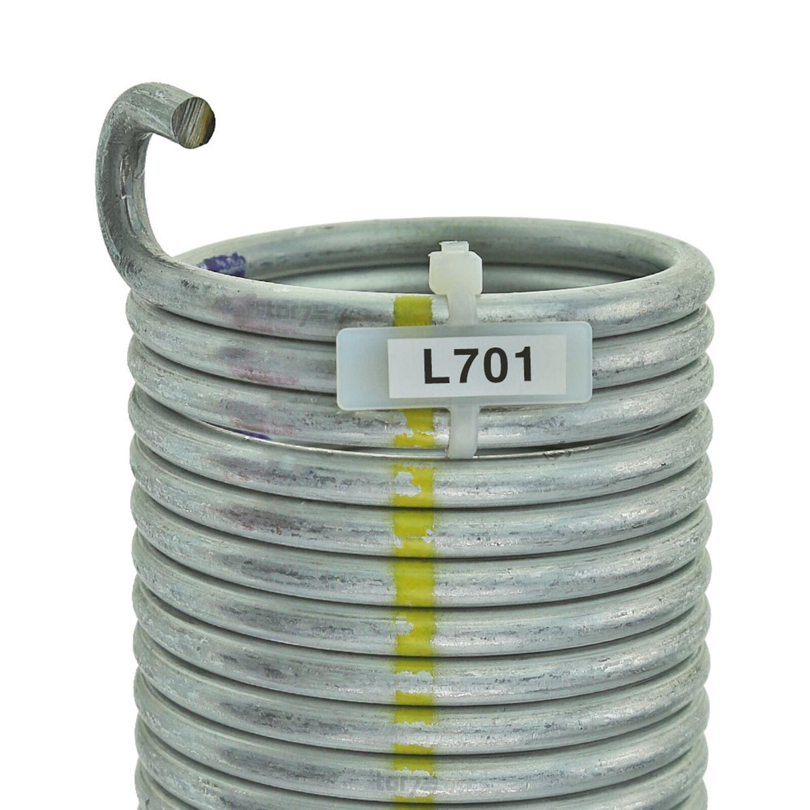 Torsionsfeder L701 / L20 für Hörmann Garagentor Garagentorfeder Torfeder