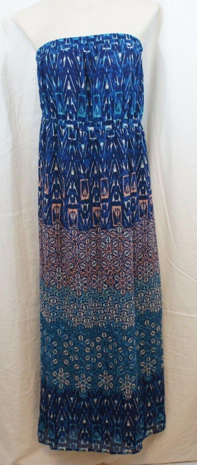 37d3cc15f79 SIZE 18 20 Lane Bryant Womens Ladies Maxi Dress Removable straps ...