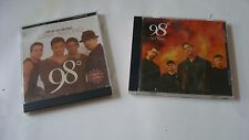 "98 Degrees Two(2) CD Lot ""And Rising/Give Me Just One Night (Una Noche)"