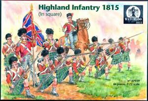 Waterloo-1815-Miniatures-1-72-HIGHLAND-INFANTRY-IN-SQUARE-1815-Figure-Set