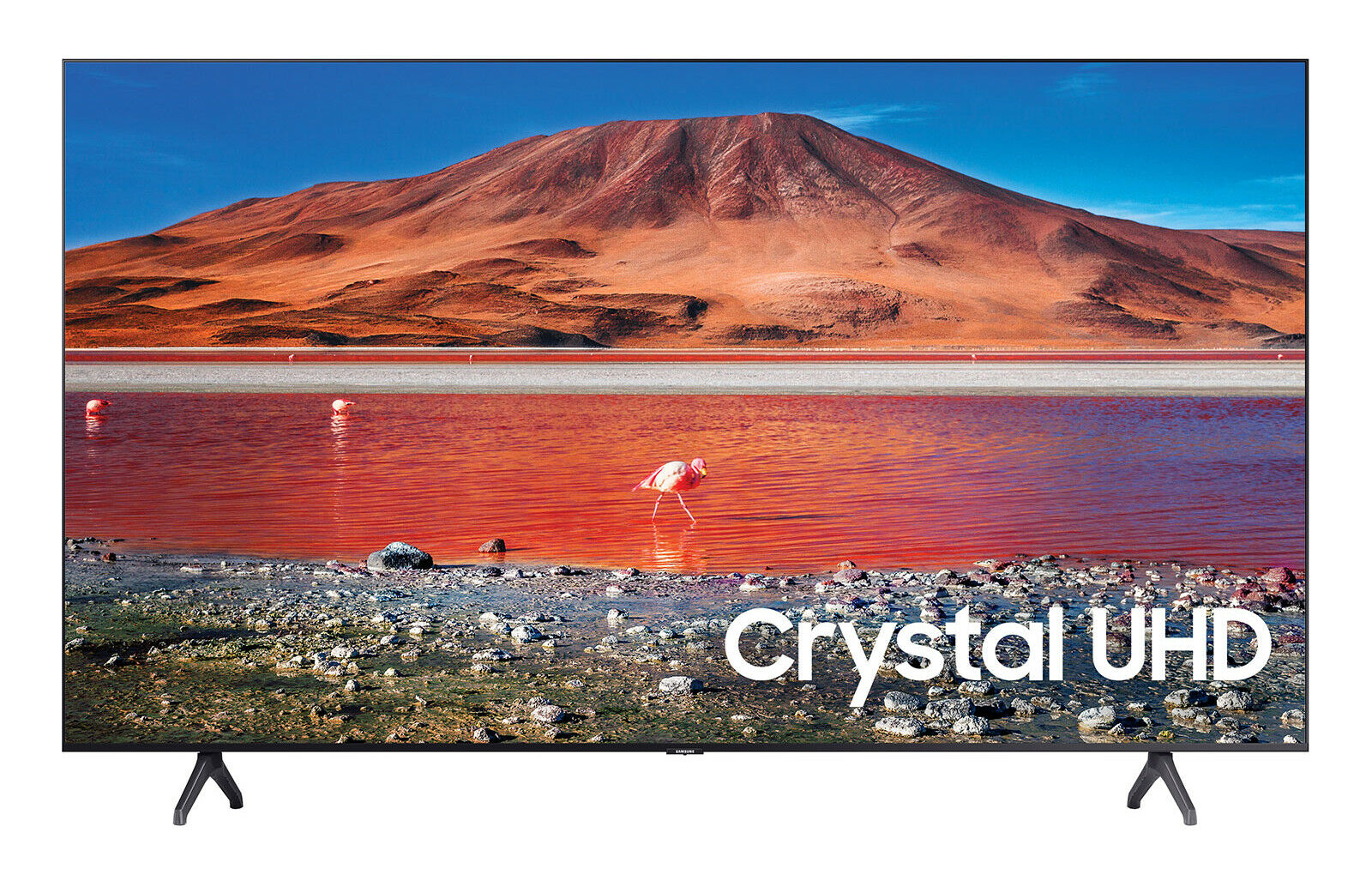 Samsung 70 inch TV 2020 LED 4K Crystal Ultra HD HDR Smart TV TU7000 Series. Buy it now for 750.00
