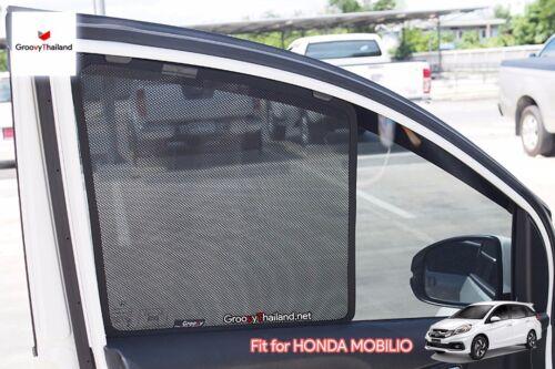 6 PCS SET FOLDABLE MESH CURTAIN BLIND SUN SHADE ASSEMBLY FIT FOR HONDA MOBILIO