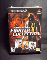 Namco Classic Fighter Collection Playstation 2 2008 In Factory Sealed Wrap