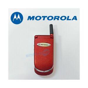 TELEFONO CELLULARE MOTOROLA V998+ RED ROSSO GSM DUAL BAND RICONDIZIONATO-