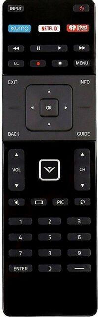 Genuine VIZIO Xrt122 Remote Controls (xumo Netflix Iheartradio)