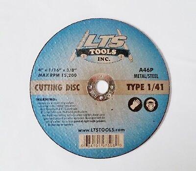 "41 Metal Cut Off Wheels 10pc 3/"" X 1//16/"" X 3//8/"" Type 1"