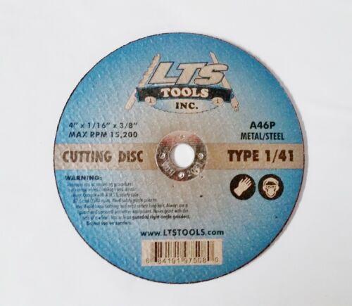 "4/"" X 1//16/"" X 3//8/"" Type 1 41 Metal Cut Off Wheels Professional 25pc"