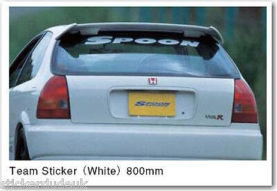 3/'/' 5/'/' or 6/'/' JDM Spoon Sticker Car Bumper Decal