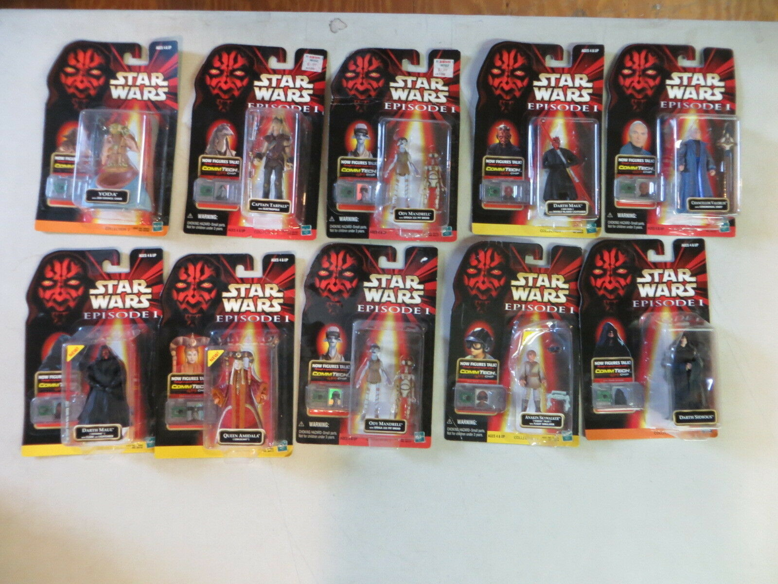 Star Wars Episode 1 14 Figur Viele Darth Maul Amidala Anakin Skywalker B