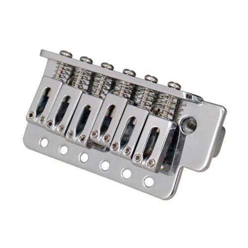 1 Satz Single Locking Tremolo Bridge mit Bar für 6 saitige Linkshänder