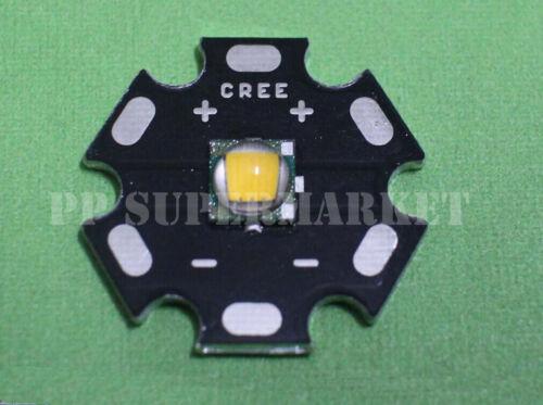 Cree single-die Xm-l Led T6 Blanco Neutro 4000k 280lm@750ma con 20 mm ronda Pcb