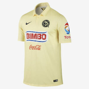72918406f46 Image is loading NIKE-CLUB-AMERICA-HOME-JERSEY-2014-15