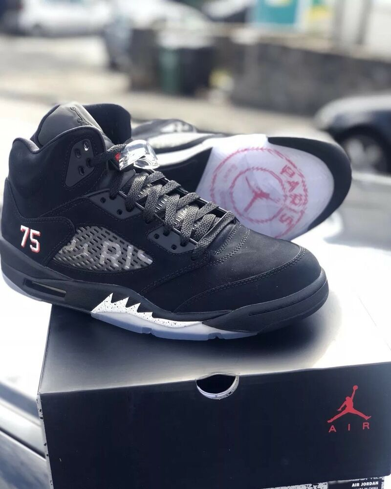 Nike Air Jordan 5 Retro Paris Saint Germain PSG UK 10.5-