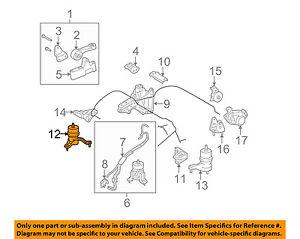 image is loading toyota-oem-08-09-highlander-engine-motor-mount-