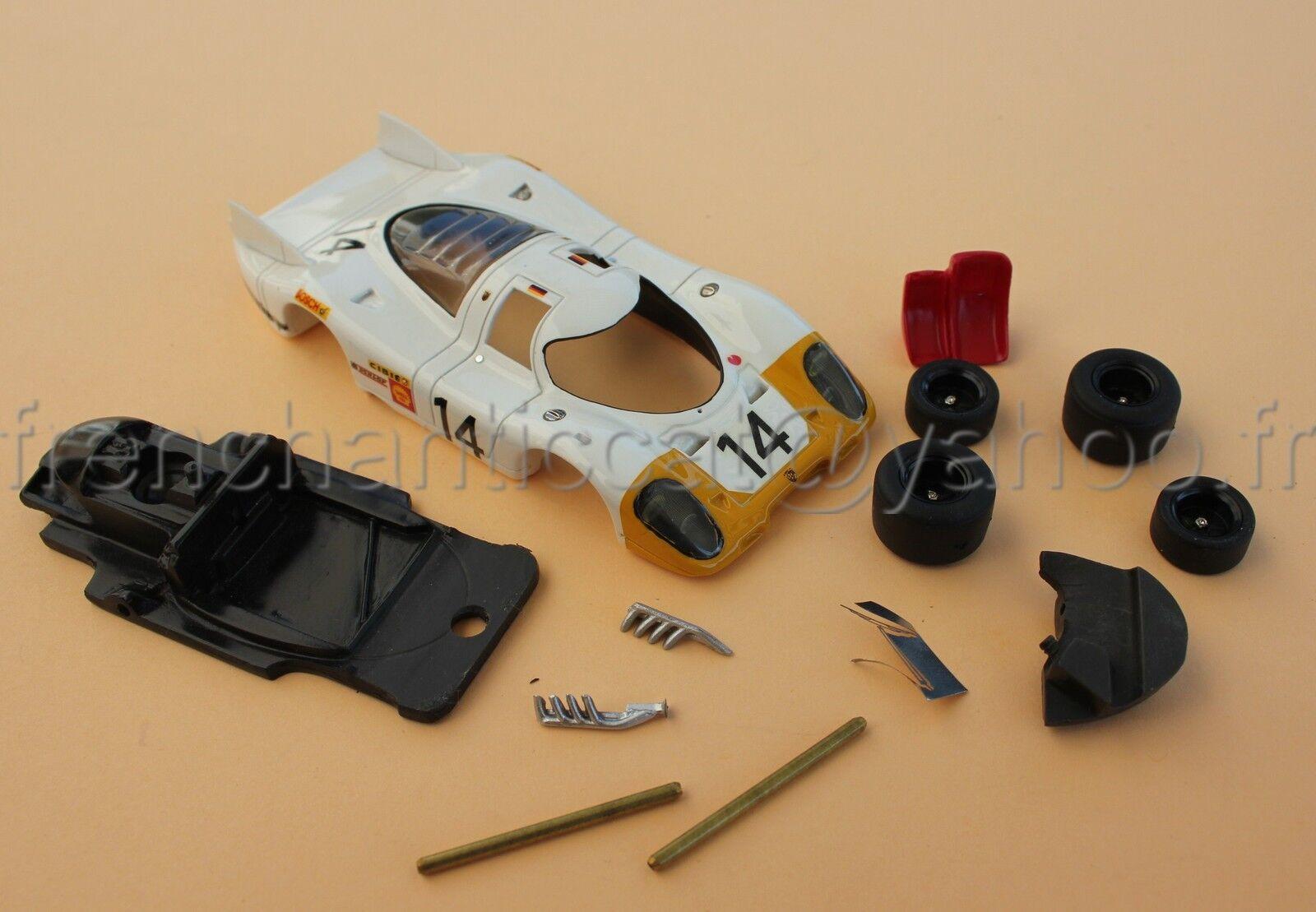 Cq Raro Predotipo Ensayo Heco Porsche 917 1 43 Miniatura N º 14 Le Mans Cibie