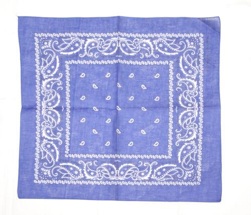 bandana dans différentes couleur 6x foulards Chiffon-nikkituch-foulard-foulard