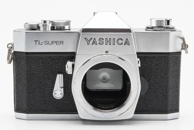 Yashica TL-Super Gehäuse Body analoge Spiegelreflexkamera SLR Kamera silber