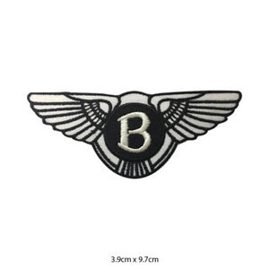 Bentley-Car-Brand-Embroidered-Patch-Iron-on-Sew-On-Badge-For-Clothes-etc