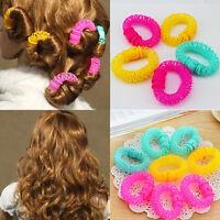 8 Pcs/lot Hairdress Magic Bendy Hair Styling Roller Curler Spiral Curls DIY Tool
